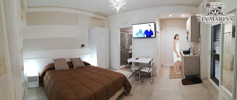Le Camere della Guest House Via Marina Reggio Calabria centro