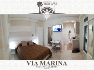 luxury guest house via marina reggio calabria centro lungomare B&B
